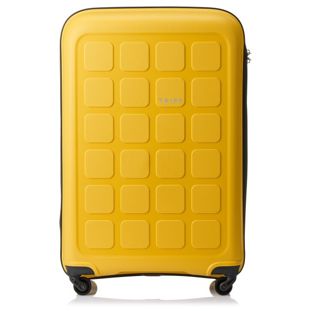 Holiday 6 Large 4 wheel Suitcase 75cm BANANA.